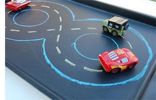 Home Dzine Craft Ideas Kids Fun Travel Tray
