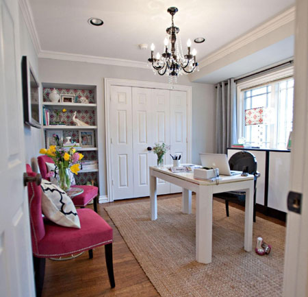 Beau Decorate For A Glamorous Home Office