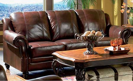 how to care for leather upholstered furniture