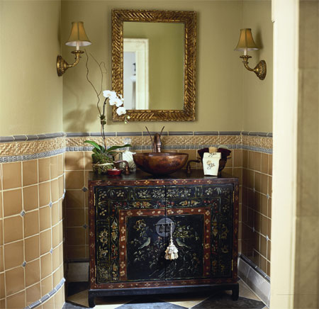 A One Of A Kind Bureau Or Dresser Can Be Used To Make A Unique Bathroom  Vanity, And Can Cost Substantially Less Than Custom Made Cabinetry,  Especially If ...