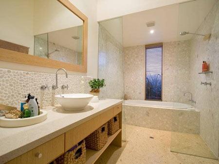 Home Dzine Bathrooms Design A Built In Bathroom