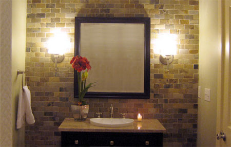 Home dzine bathrooms decorating a guest toilet for Second bathroom ideas