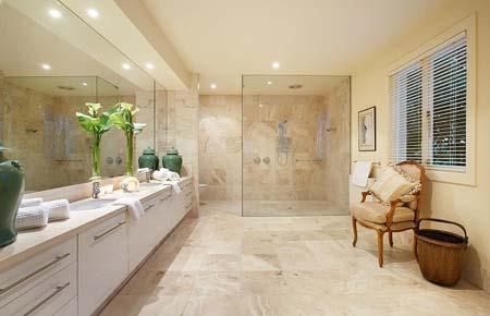 HOME DZINE Bathrooms | Bathroom lighting ideas