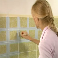 Magnificent Home Dzine Bathrooms Painting Tiles For A Weekend Makeover Home Interior And Landscaping Synyenasavecom