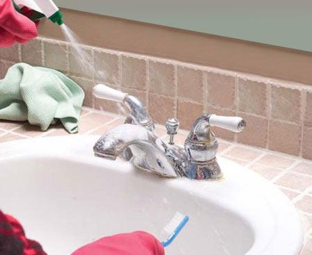 Home Dzine Bathrooms Remove Stubborn Bathroom Stains
