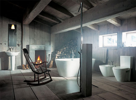 Home Dzine Bathrooms The Genius Of Philippe Starck