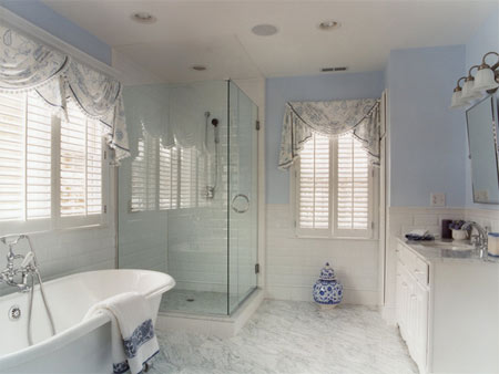 Home Dzine Bathrooms Bathroom Window Dress Up Or Leave Bare