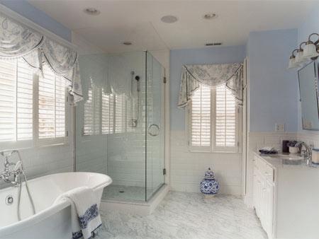 Home Dzine Bathrooms Bathroom Window Dress Up Or Leave