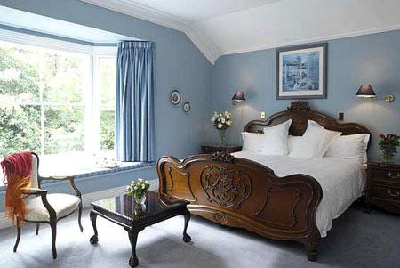 HOME DZINE Bedrooms | Cool blue bedrooms