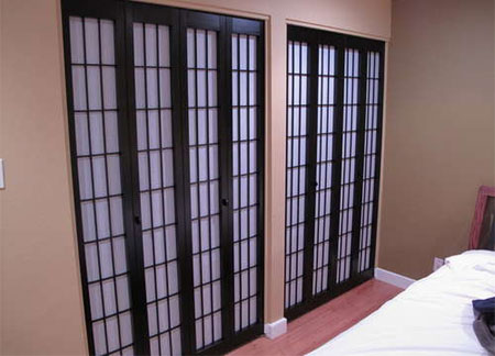 Home Dzine Bedrooms Get Rid Of Boring Closet Doors