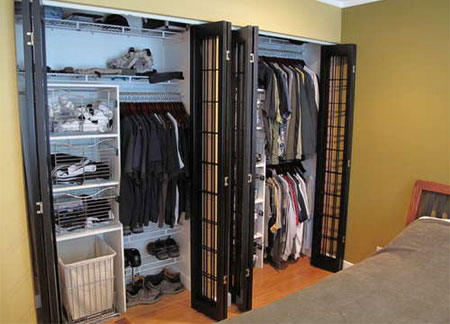 Folding Sliding Closet Door