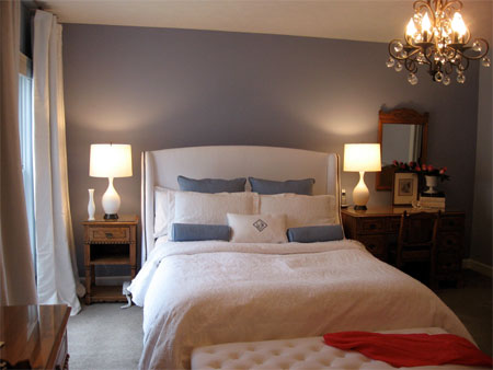 Home dzine bedrooms makeover a bedroom in a day for Small womens bedroom ideas