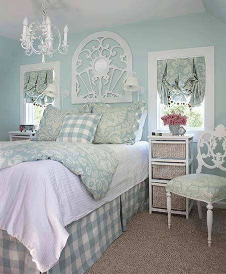 You Can Transform A Boring Guest Bedroom Into Relaxing Sanctuary That Any Would Love To Sleep In With Its Shades Of Robin S Egg Blue