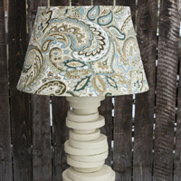 Make a lamp with off cuts