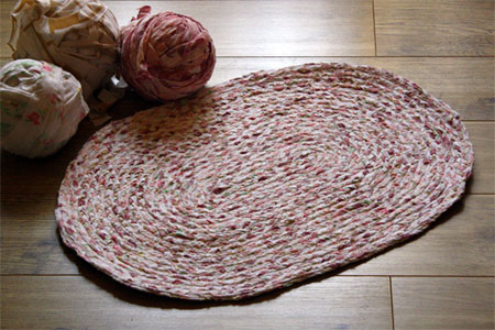Home Dzine Craft Ideas How To Make A Braided Rug