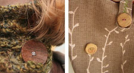 Make your own wooden buttons