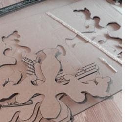 Home dzine craft ideas make a cardboard chandelier make a cardboard chandelier aloadofball Choice Image