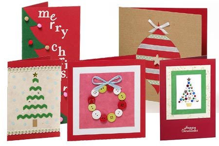 Home dzine craft ideas make your own christmas cards make your own christmas cards m4hsunfo