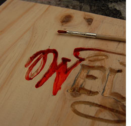 wood carving letter templates