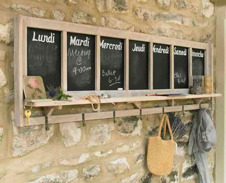 Craft Ideas Notice Board on Chalk Board Can Be Used For Notice Boards And Menu Boards In Almost