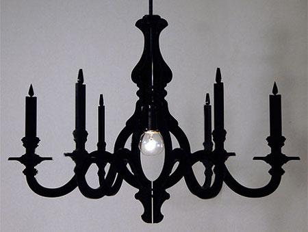 Make a cardboard chandelier handy diy - Build a chandelier ...