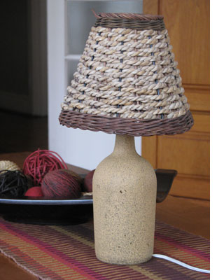 Elegant Make A Table Lamp From A Wine Bottle