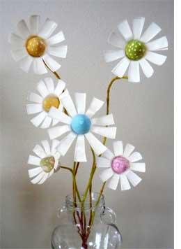 Home Dzine Craft Ideas Upcycled Plastic Bottle Flowers