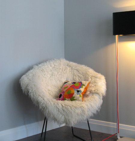 Home Dzine Craft Ideas Faux Fur Upholstered Chair