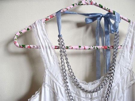 Home Dzine Craft Ideas Fabric Wrapped Coat Hangers