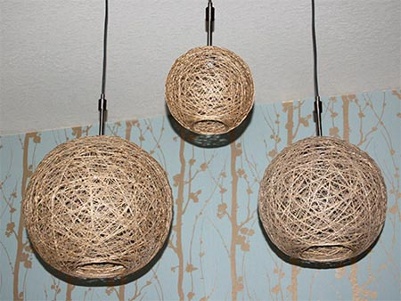 Home dzine craft ideas how to make your own lampshades - Jugendzimmer lampe ...
