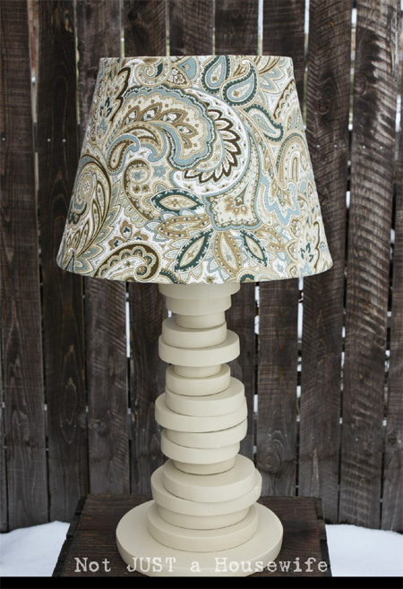 Use Off Cuts To Make A Table Lamp