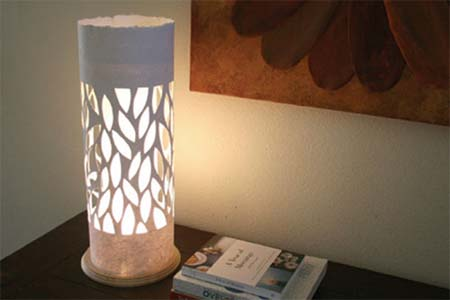 Home dzine craft ideas lamp with paper lampshade paper lampshade aloadofball Choice Image