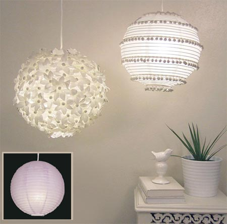 Home dzine craft ideas elegant light fitting chinese paper lamp shade lantern aloadofball Image collections