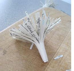 Home dzine craft ideas newspaper bouquet newspaper bouquet mightylinksfo
