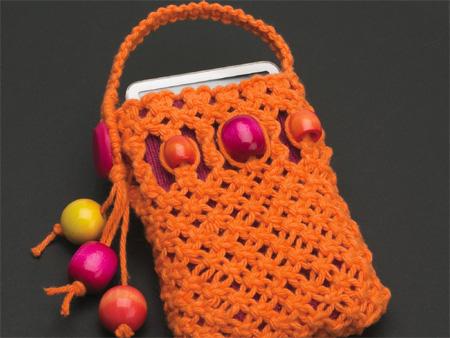 Home Dzine Craft Ideas Macram 233 Ipod Or Cellphone Holder