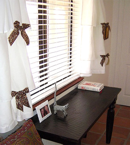Home Dzine Craft Ideas Dress Up Curtains And Blinds With
