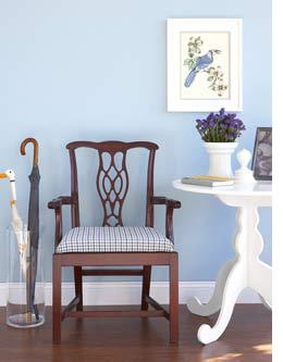 HOME DZINE Craft Ideas Reupholster A Chair