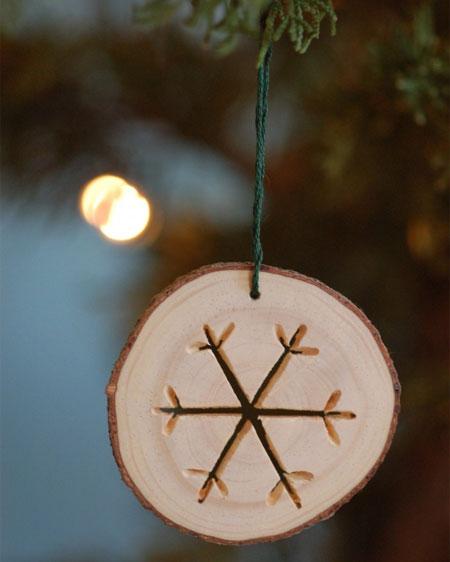 wooden xmas tree ornaments 2