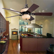 Ceiling fans save energy