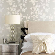 Decorating with Fired Earth wallpaper