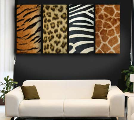 Home dzine home decor decorating with animal prints for Animal print living room decorating ideas