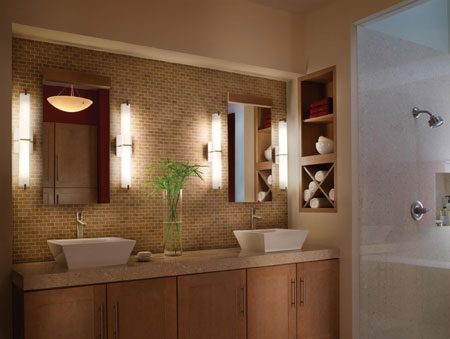 Home dzine home decor install modern lighting for The bathroom builders