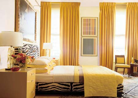Another Option Is To Hang Floor Ceiling Curtains On Any Blank Wall Infuse Room With Pops Of Brilliant Colour When Selecting The