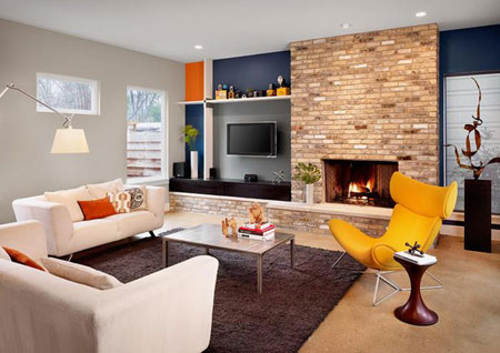 Home Dzine Home Decor Decorating Combined Living Spaces
