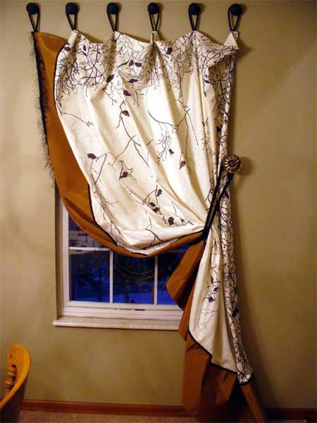 Home Dzine Home Decor Quick And Easy Window Treatments