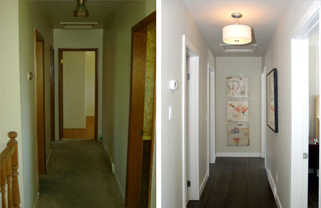 How To Paint A Hallway how to decorate a small hallway. excellent easy tips to make your