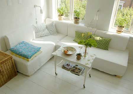 Home-Dzine - How to decorate for small spaces