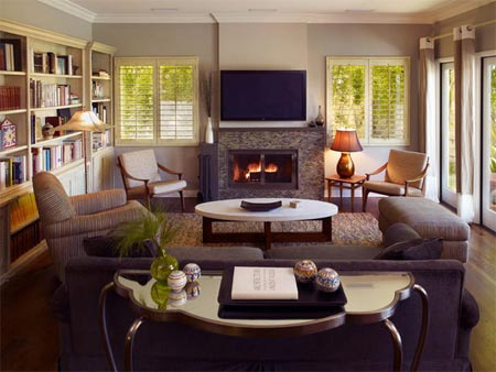 wonderful low ceiling living room ideas | HOME DZINE Home Decor | Living with low ceilings