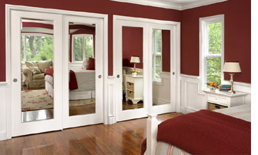 Add mirrors to closet or built in cupboard doors & HOME DZINE Home Improvement | Add mirrors to closet or built in ...