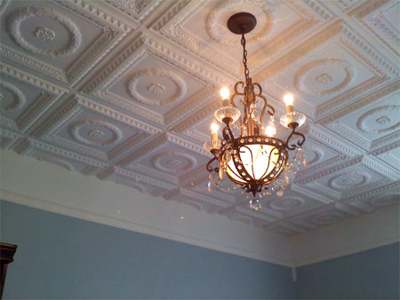 Home Dzine Home Improvement Restoration Of Pressed Ceilings